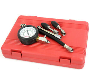 Quick Cylinder Compression Pressure Tester Tuner For Most Vehicles Test Auto