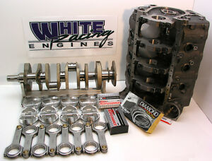 Bbc 632 Chev Cid Dart Merlin Short Block 4340 Kit 4 Bolt Splayed Unassembled