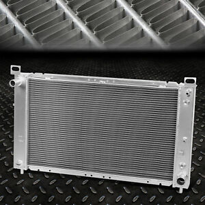 2 row Full Aluminum Racing Radiator 99 07 Gmc Yukon sierra tahoe escalade V8 At