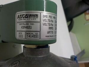 New Asco Red Hat 2 way Direct acting Solenoid Lp Valve Agk3a461u