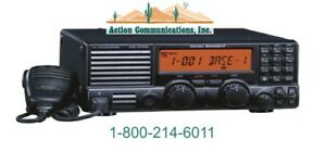 New Vertex standard Vx 1700 Low Band 1 6 30 Mhz 125 Watt 200 Ch Mobile Radio