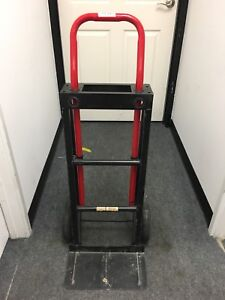 Milwaukee Hand Trucks Heavy Duty Rolling Cart Convertible Local Pickup