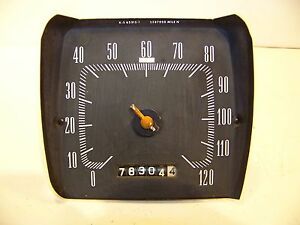 1965 Plymouth Satellite Speedometer 2587020 Belvedere Oem