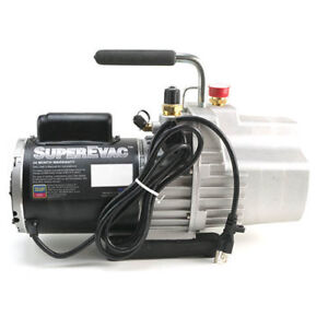 Yellow Jacket 93589 Superevac 8 Cfm Two stage Vacuum Pump 100 Vac 50 Hz