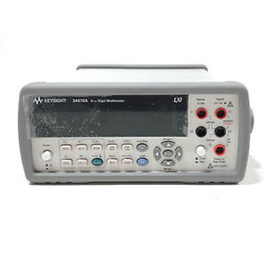 Agilent Hp 34410a 6 5 Digit Digital Multimeter Refurbished