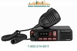 New Vertex standard Evx 5300 Uhf 403 470 Mhz 25 Watt 8 Channel Two Way Radio