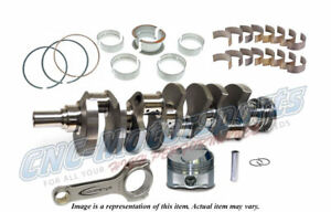 Bb Chevy 557 582 Stroker Callies Rotating Assembly Kit Balanced 15 2 Je Pistons