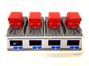 Stryker System 6 Battery Charger 6110 120 With 4 6126 Batteries with Warranty