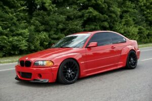 Pandem Style Wide Body Kit Non M3 Bmw E46 2door Preface facelift Coupe