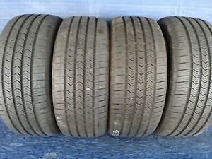 4 Goodyear Eagle Sport Rft 245 45 18 Bmw With 9 25 10 25 32nd Tread Left 100 H