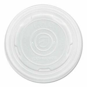 Eco products Food Container Lids Fits 8 oz Sizes 1000 Lids ecoepecolidsps