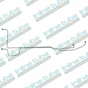 1967 Plymouth Fury I ii iii sport Fury V8 5 16 Trans Cooler Lines 2pc Stainless