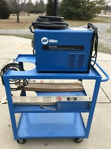Miller Econotig Tig Welder With Heavy duty Welding Cart