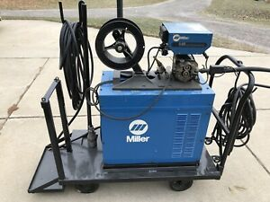 Miller Cp 300 Welder And S52e Feeder Mig Welder