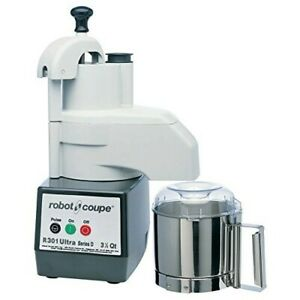 Robot Coupe R 301 Ultra Series D 3 5 Qt Food Processor With Vegetable Prep Kit