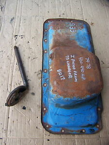 1973 Dodge Charger 400 Oil Pan Oem 933 74 75 76 77 78 440 Hp New Yorker