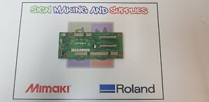 Genuine Roland Soljet Pro Iii Xj 640 Printer Motsens Junction Board W7003113a1