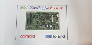 Genuine Roland Soljet Pro Iii Xj 640 Printer Assy Servo Board 6700731000