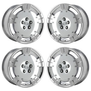 18 Lexus Sc430 Pvd Chrome Wheels Rims Factory Oem Set 4 74160