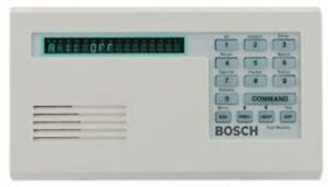 New Bosch 1255 Security Systems D1255w Series Vfd Keypad Command Center White
