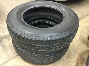 Pair 2 Michelin Defender Ltx Lt 245 70r17 Load E 10 Ply 11 32 No Patches 2017