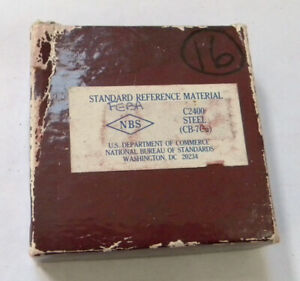 Nbs Standard Reference Material C2400 Steel cb 7cu Nist