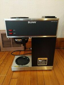 Bunn Commercial Coffee Maker Vpr Black Series 2 Warmers 33200