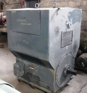 500 Hp Siemens allis Electric Motor 1200 Rpm 588us Frame Wpii 4160 V