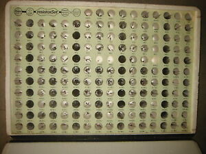 1000 Pc Resistor Assortment Kit In Case 1 4w 5 170 Different Values