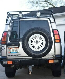 99 04 Land Rover Discovery Ii 2 Rear Bumper Cover Inner Bar W Light Guards