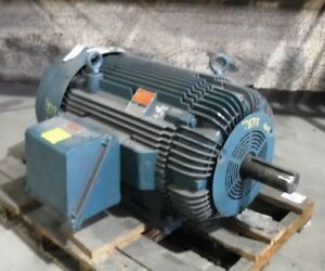 300 Hp Reliance Electric Motor 1800 Rpm 449t Frame Tefc 460v New