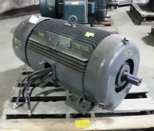 300 Hp Seimens Electric Motor 3600 Rpm 447ts 449ts Frame Tefc 460 V 1 15 Sf