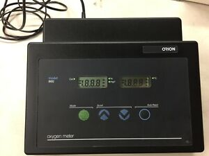 Orion Model 860 Dissolved Oxygen Meter Only No Accessories