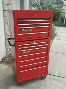 Snap On Tools Heritage Series Roll Cab Top Chest 26 Tool Box Red Kra 2007 4014