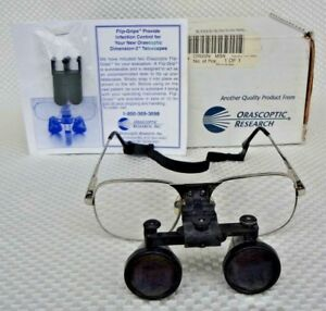 Orascoptic Research Inc Telescopes Flip up Dental Surgical Loupes 3d 2 6