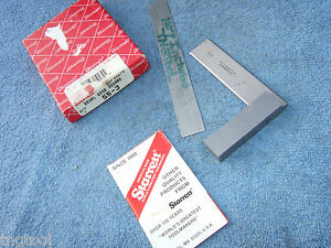 Starrett No 55 3 Used Square Beveled Edge Vintage Toolmaker Machinist Clean Tool