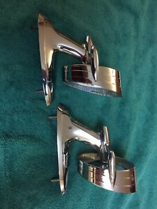 1958 Chevy Impala Halo Door Mirrors Set Of Two