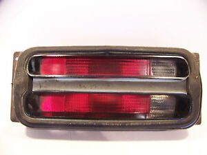 1971 Plymouth Duster Lh Tail Light Assy W Housing 3403711 Oem