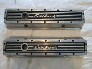Edelbrock Elite Valve Covers 327 350 400 Small Block