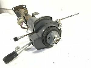 87 95 Jeep Wrangler Column Automatic Shift Steering W Tilt Key Gray Yj Mopar