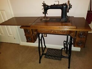 Antique Sewing Macine Wheeler Wilson