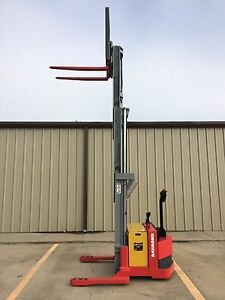 2003 Raymond Dsx40 Walk Behind Forklift Straddle Lift Very Nice Triple 150