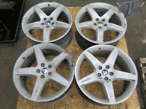 11 14 Ford Mustang Gt Set Of 4 Roush 5 Spoke 20 Rims 20x9 5j Oem