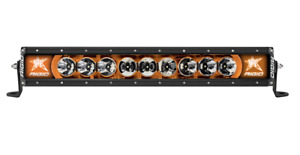 Rigid 220043 in Stock Radiance 20 Amber Led Light Bar