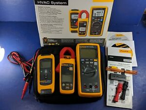 Brand New Fluke 3000fc Hvac Multimeter Meter Kit W A3000fc T3000fc