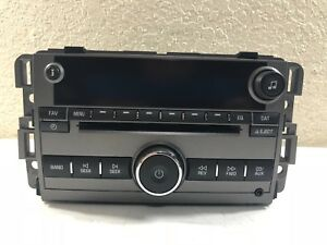 13 14 15 Chevrolet Captiva Sport Oem Radio Single Cd Aux Port Part 22924485