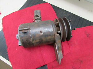 1932 1933 1934 1935 1936 1937 Ford Truck Wide Belt Double Pulley Generator