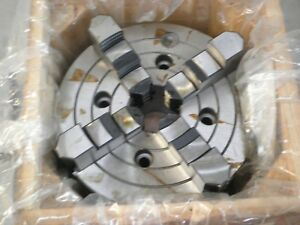 8 Precision 4 jaw Lathe Chuck W Independent Jaws new