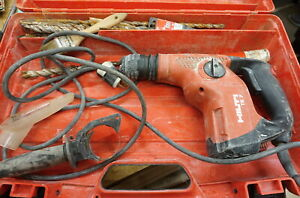 Hilti Te 7 Rotary Hammer Drill Used With Case Free Shipping