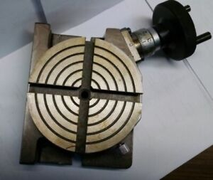 4 Rotary Table Horizontal Vertical new